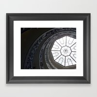 Staircase To Vatican  Framed Art Print