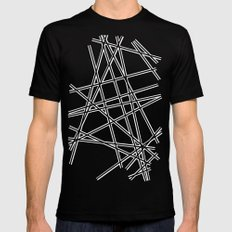 To The Edge #3 Mens Fitted Tee Black SMALL