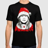Snow-maiden Mens Fitted Tee Black SMALL