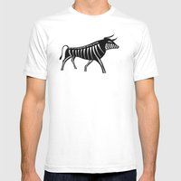 XRAY Bull Mens Fitted Tee White SMALL
