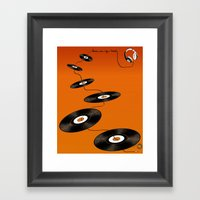 Music In My Mind II Framed Art Print