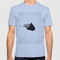 Magic Pyramid Mens Fitted Tee Athletic Blue SMALL