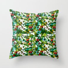 ladybugs festival Throw Pillow