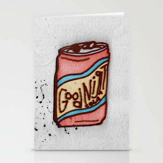 GOODNIGHT COLA Stationery Card