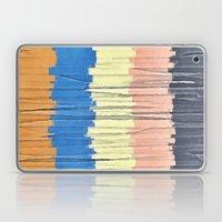 Textured Stripes Abstract Laptop & iPad Skin