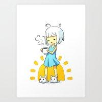 Morning Coffee 2 Art Print