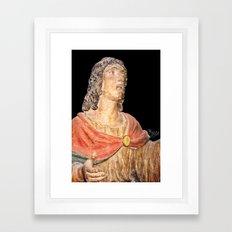 Grieving John Framed Art Print