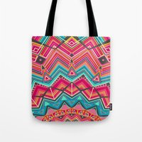 picchu pink Tote Bag