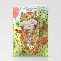 Candy Realm Stationery Cards