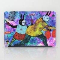 Rabbits Tricks iPad Case