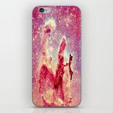 Galaxy : Pillars of Creation Nebula iPhone & iPod Skin