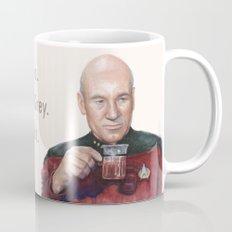 Tea. Earl Grey. Hot. Captain Picard Star Trek | Watercolor Mug