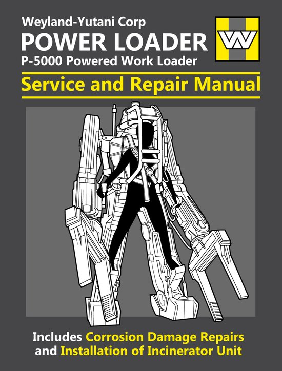 Power Loader Service and Repair Manual Canvas Print