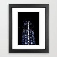 Manhattan Skyline Series… Framed Art Print