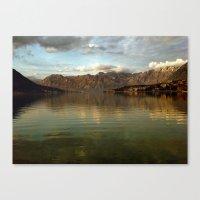 Kotor Bay Canvas Print