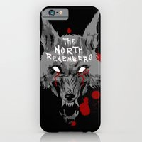 iPhone & iPod Case featuring The North Remembers - Game of Thrones by Bendragon