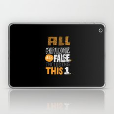 All Generalizations Laptop & iPad Skin