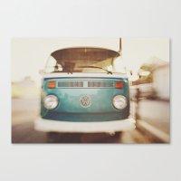 Volkswagen Bus Canvas Print