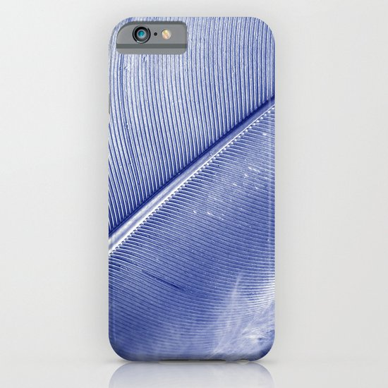blue feather II iPhone & iPod Case