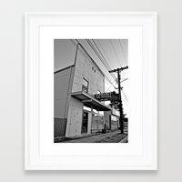 Framed Art Print featuring Alphabet Preschool by Vorona Photography