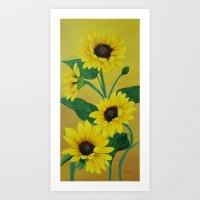 Sunny And Bright Art Print