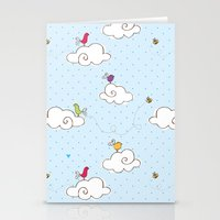 cotton cloud Stationery Cards