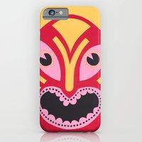 iPhone & iPod Case featuring The Jolly Lucha by Torso Vertical, Illustration and Design