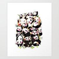 Wild Family Series - Aft… Art Print
