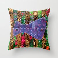 Figure 24 (Diagram Series) Throw Pillow