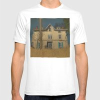 Abandoned Mens Fitted Tee White SMALL
