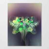 T-Rex Dream Canvas Print