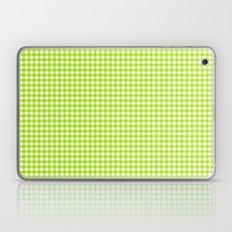 Picnic Pals gingham in citrus Laptop & iPad Skin