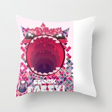 Block Party! Throw Pillow