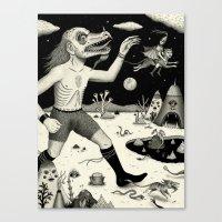 Escape! Canvas Print