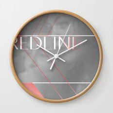 REDLINE Wall Clock