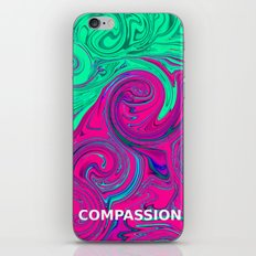 COMPASSION OF LOVE iPhone & iPod Skin