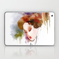 Japanese Woman Laptop & iPad Skin