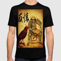 The Old Samurai And His … Mens Fitted Tee Black SMALL