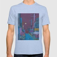 Seoul City #2 Mens Fitted Tee Athletic Blue SMALL