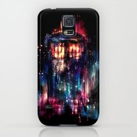 Galaxy S5 Cases featuring All of Time and Space by Alice X. Zhang