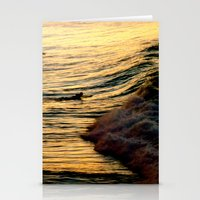 Sunset Wave Stationery Cards