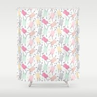 Wool is cool ! Shower Curtain