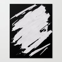 white Canvas Print