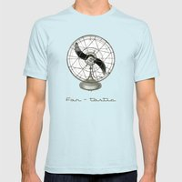 Fan - Tastic Mens Fitted Tee Light Blue SMALL