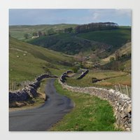 Kettlewell to Leyburn Road Canvas Print