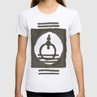 Parade of the planets Womens Fitted Tee Ash Grey SMALL