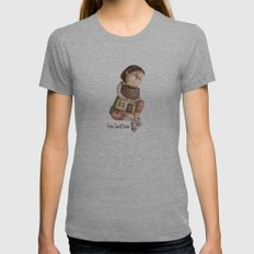 Home Sweet Home Womens Fitted Tee Athletic Grey SMALL