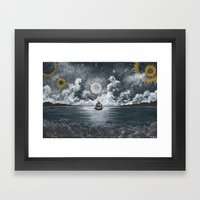 Nautical Journey Framed Art Print