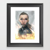 XXQ-0001P Framed Art Print