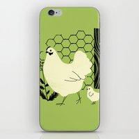 Hen And Chick iPhone & iPod Skin